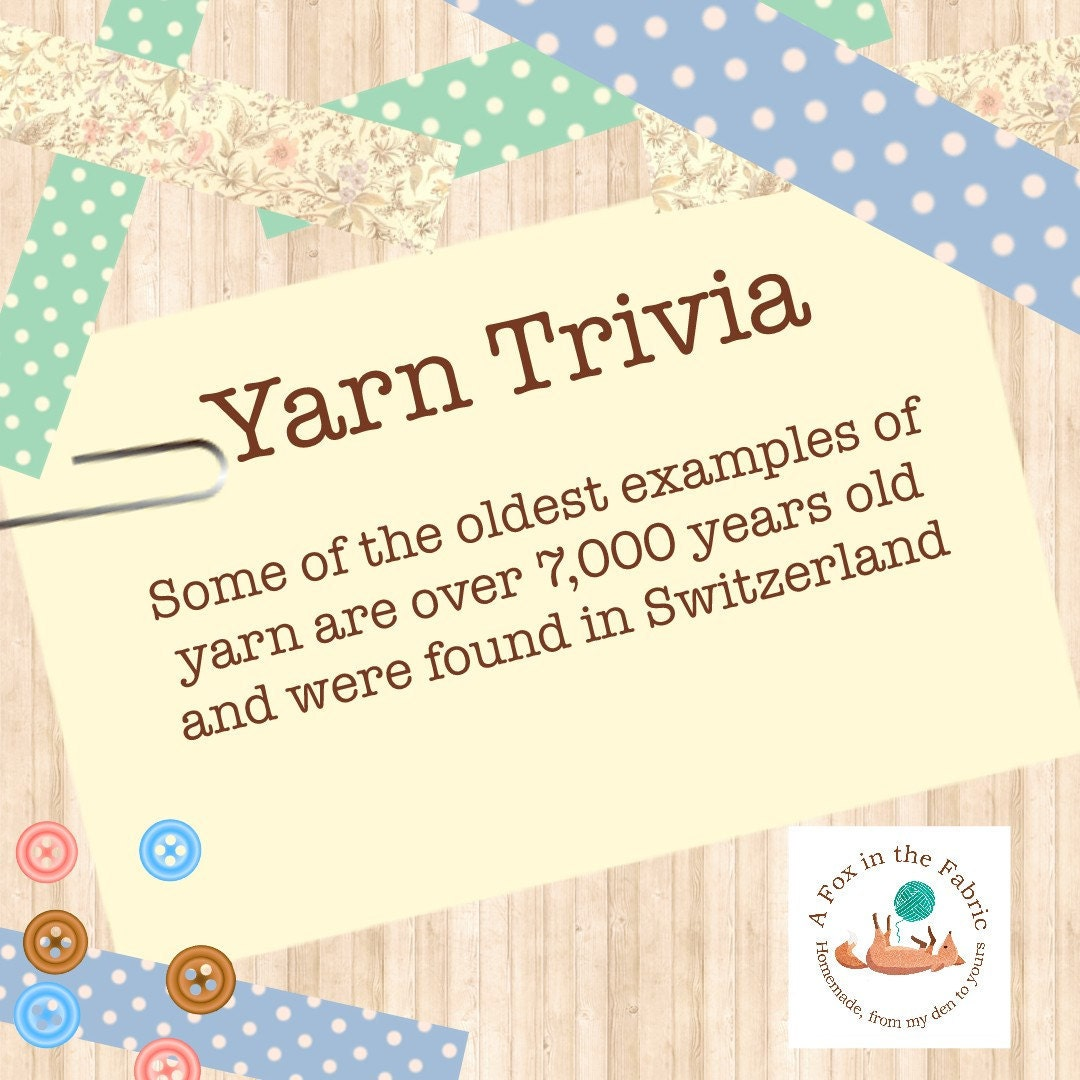 Fun Facts and Trivia about Yarn and Fiber