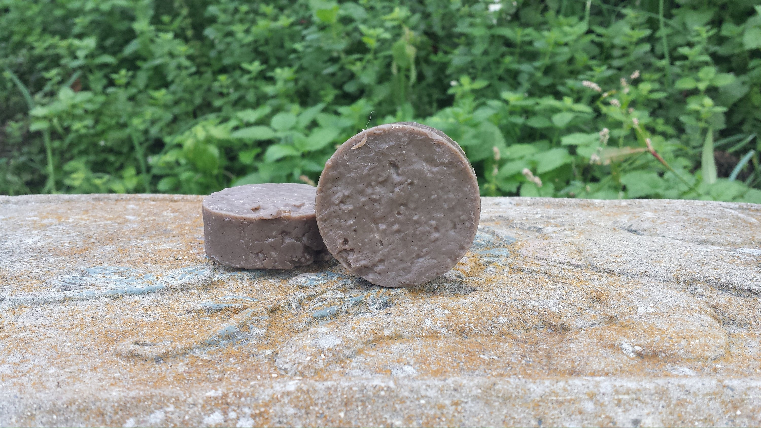 Round Travel size Moor Mud Soap