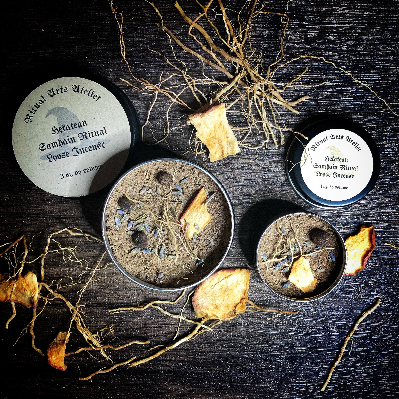 Hekatean Samhain Ritual Loose Incense from Ritual Arts Atelier