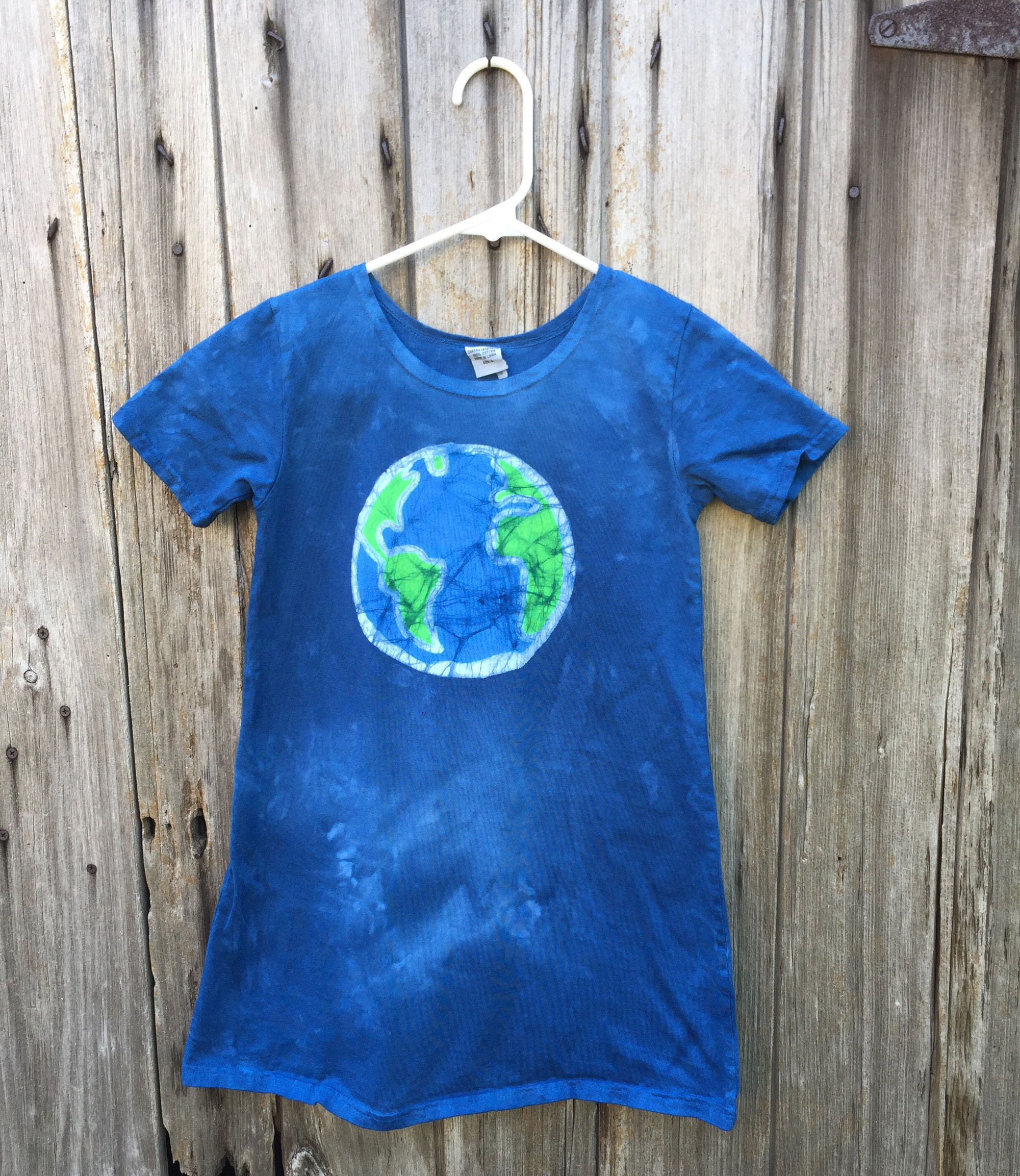 Earth dress by Peace, Baby! Batiks