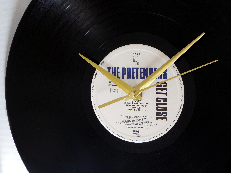 The Pretenders Get Close Vinyl Record Wall Clock