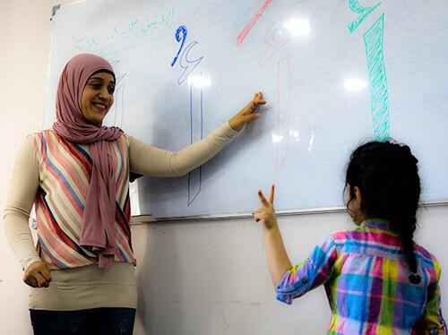 Our partner school in Beirut, Lebanon