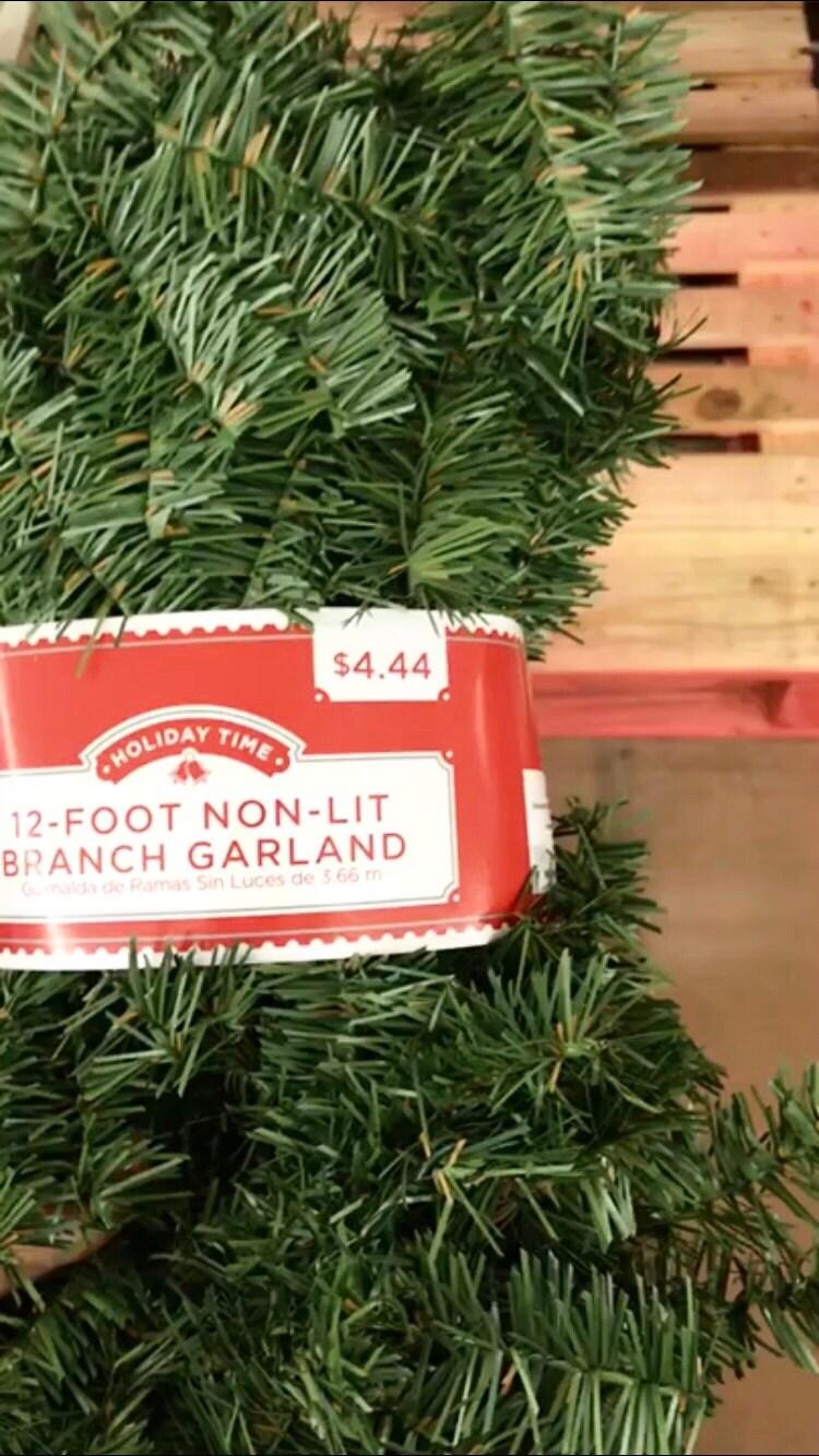 Christmas Decor Basics From Walmart
