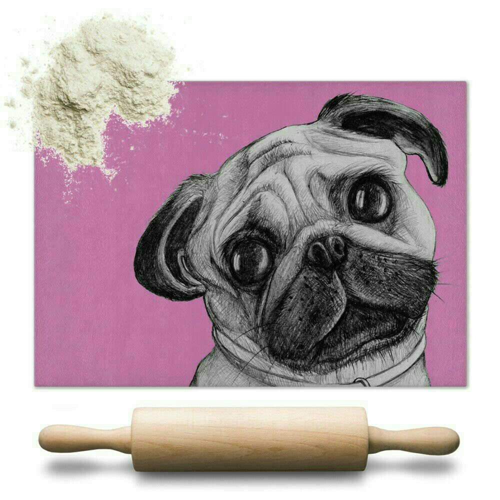 Pug chopping board