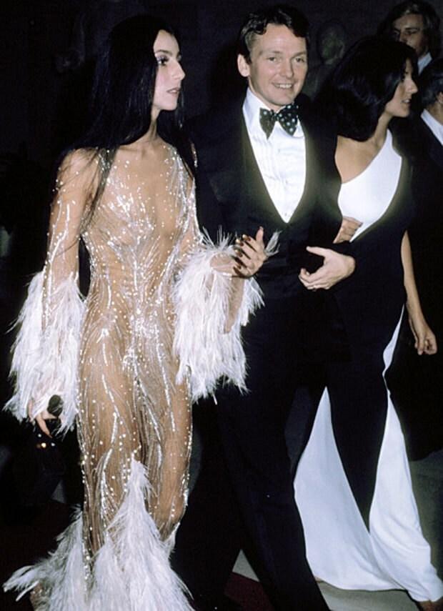 Cher and her designer Bob