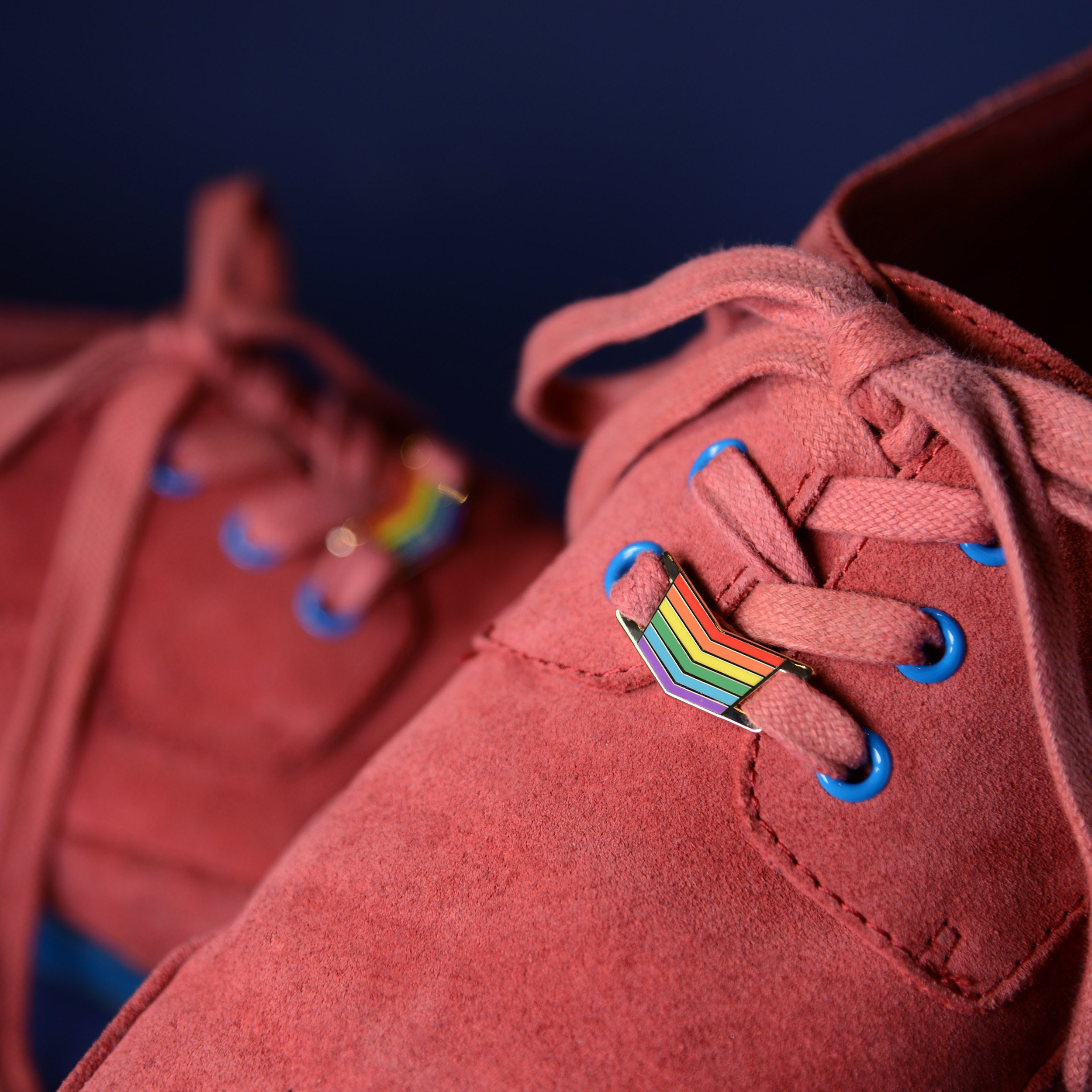 Rainbow Shoelace Charms Gay Pride Shoes