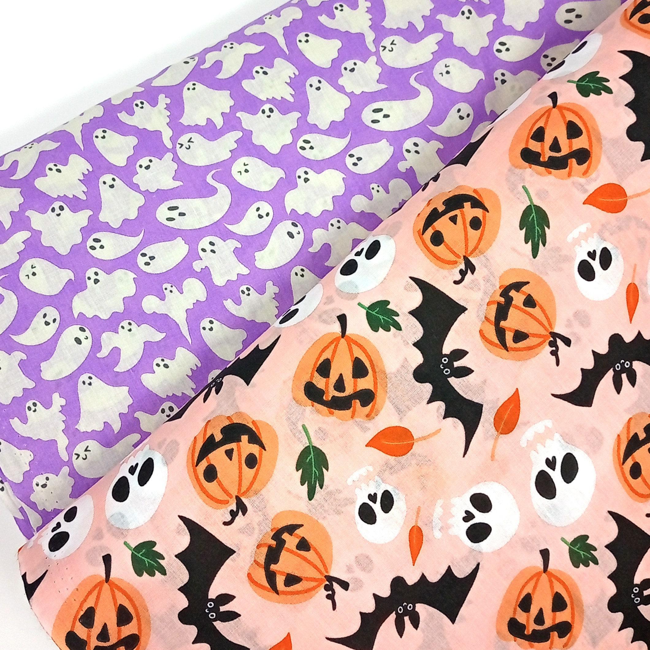 halloween fabric - halloween crafting