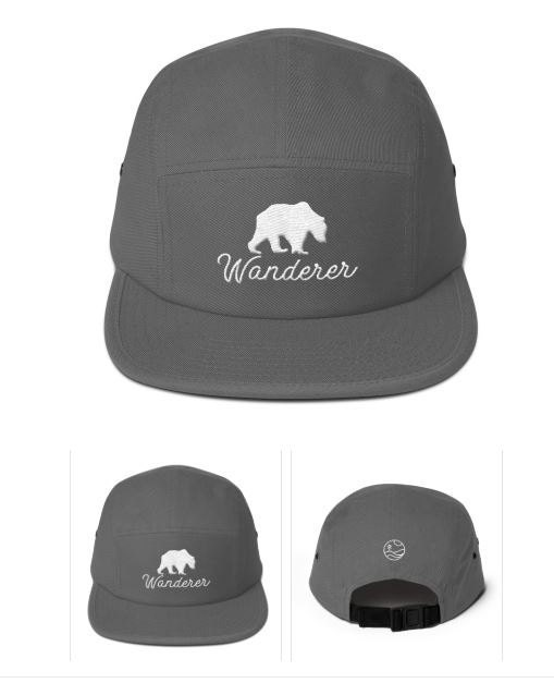 5Panel Cotton Wanderer Hat