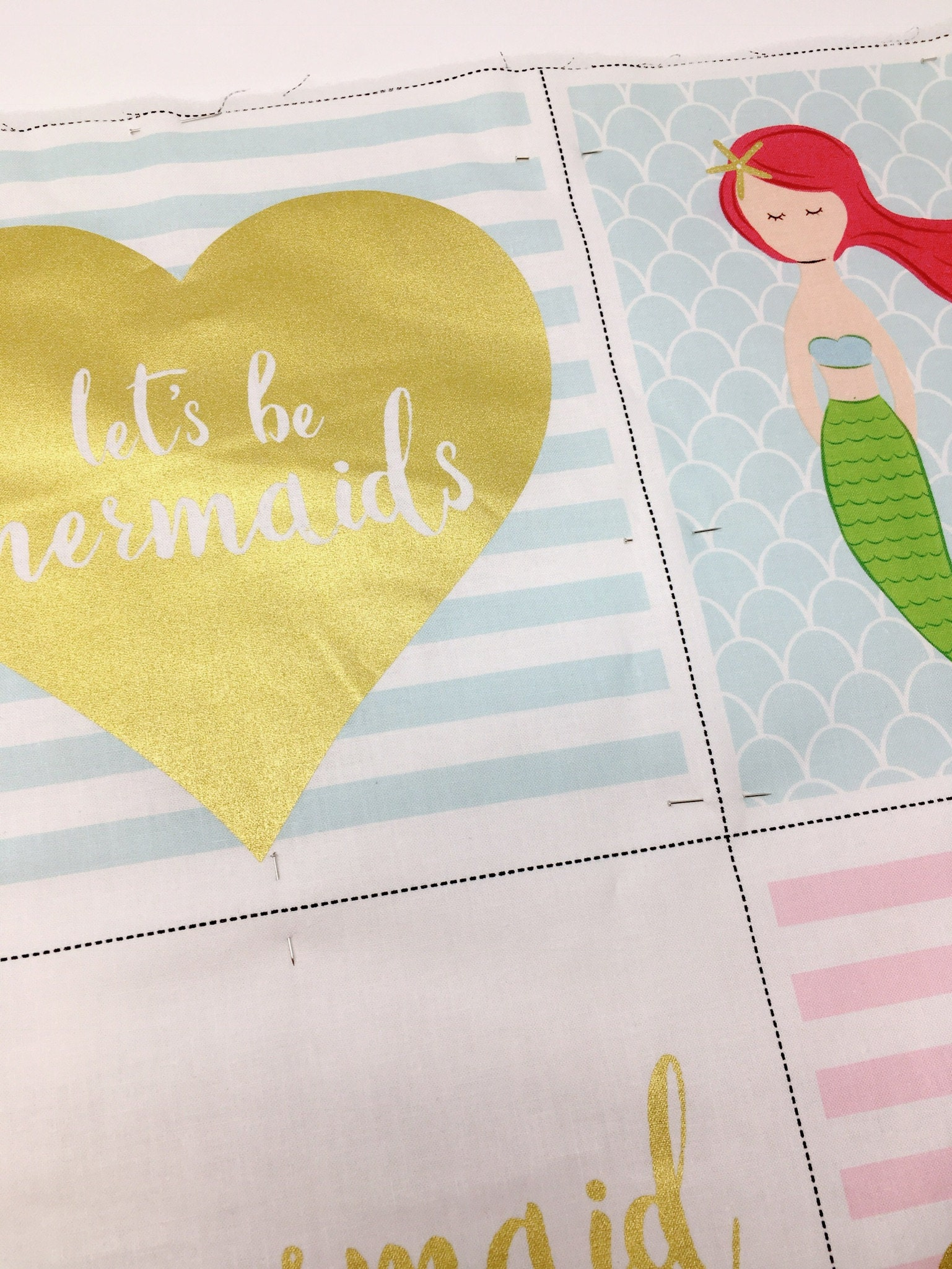 mermaid easy baby quilt studio jepson
