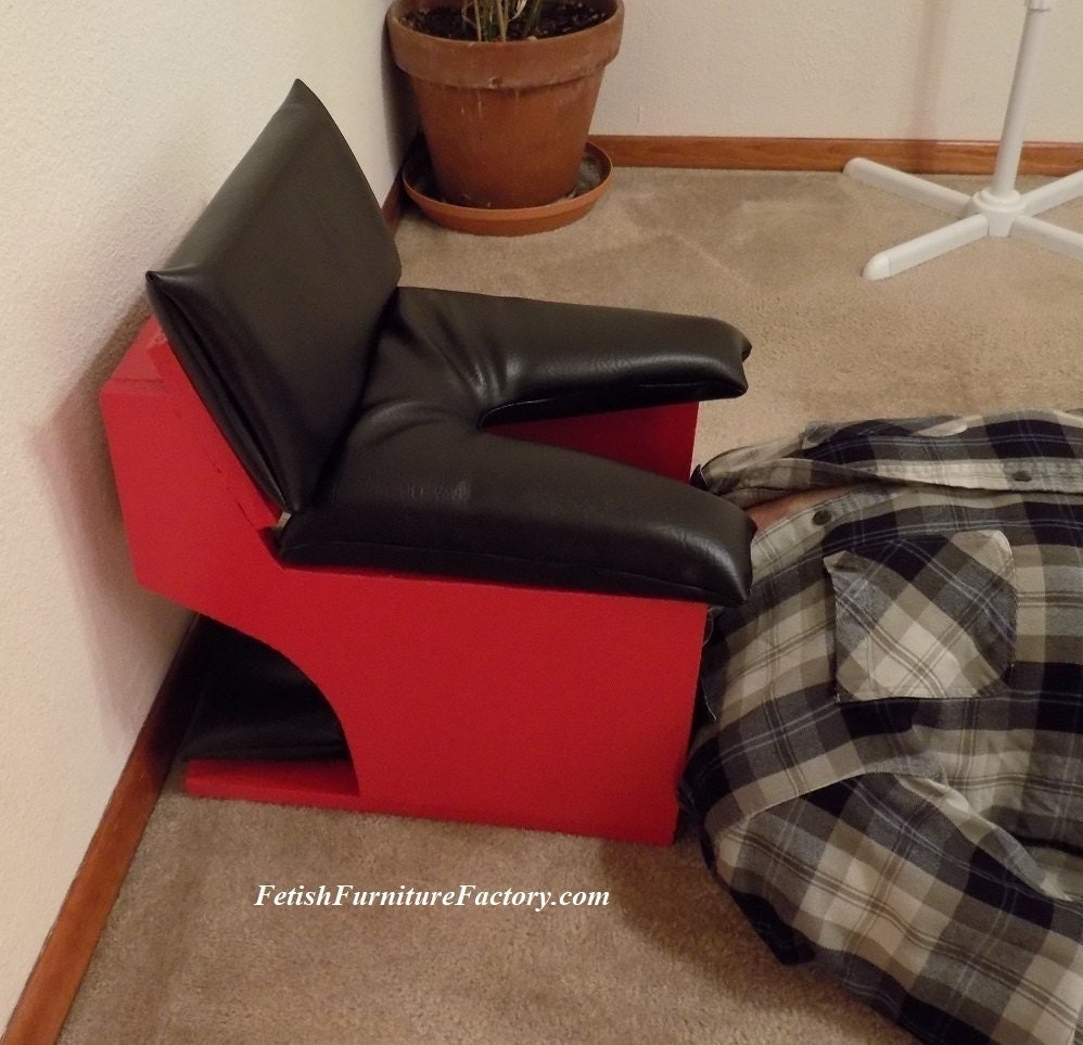 Smother Box, Queening Stool, Face Sitting Chair, BDSM