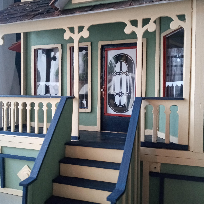 Newberg Dollhouse Porch