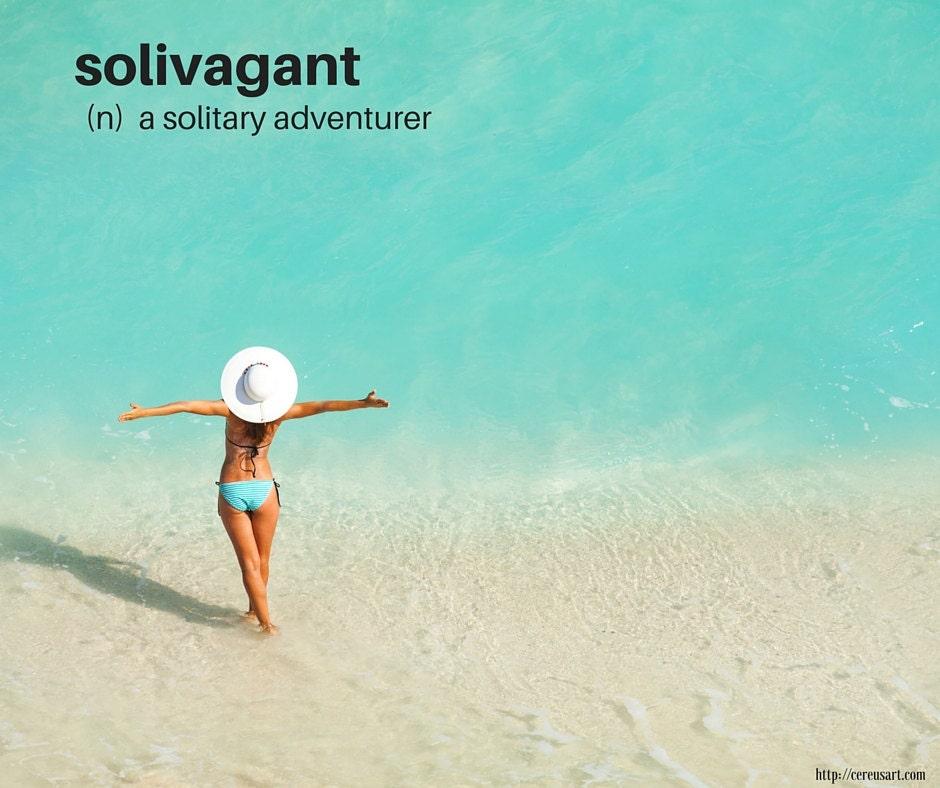 Solivagant:  a solitary adventurer
