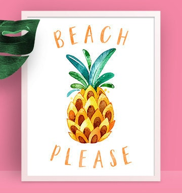 Beach Please 8x10