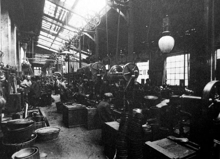 Glud & Marstrand Metal Factory production hall