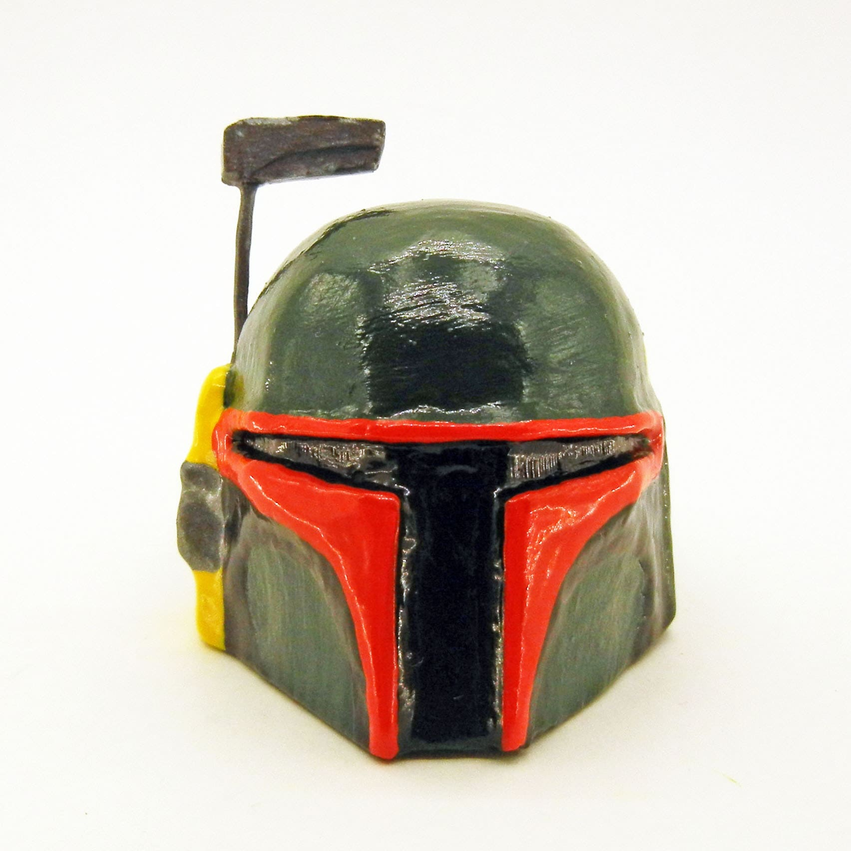 Boba Fett Helmet Furniture Knob ~ compatible with dressers, drawers, cabinets, closets / Star Wars decor for bedroom, bathrooom, kitchen, living room, office