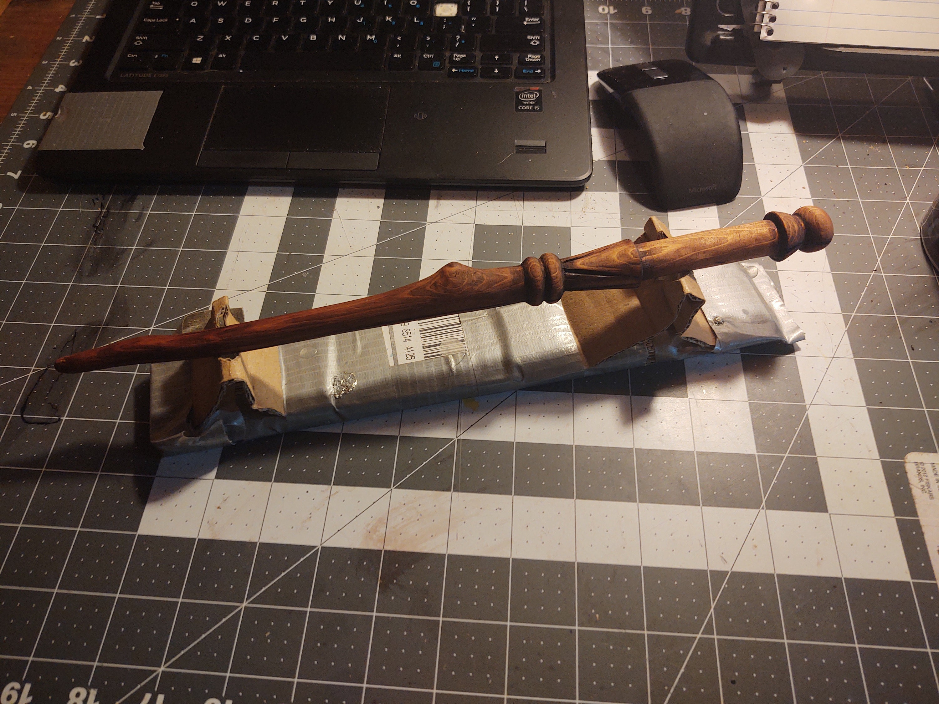 full wand post-stain
