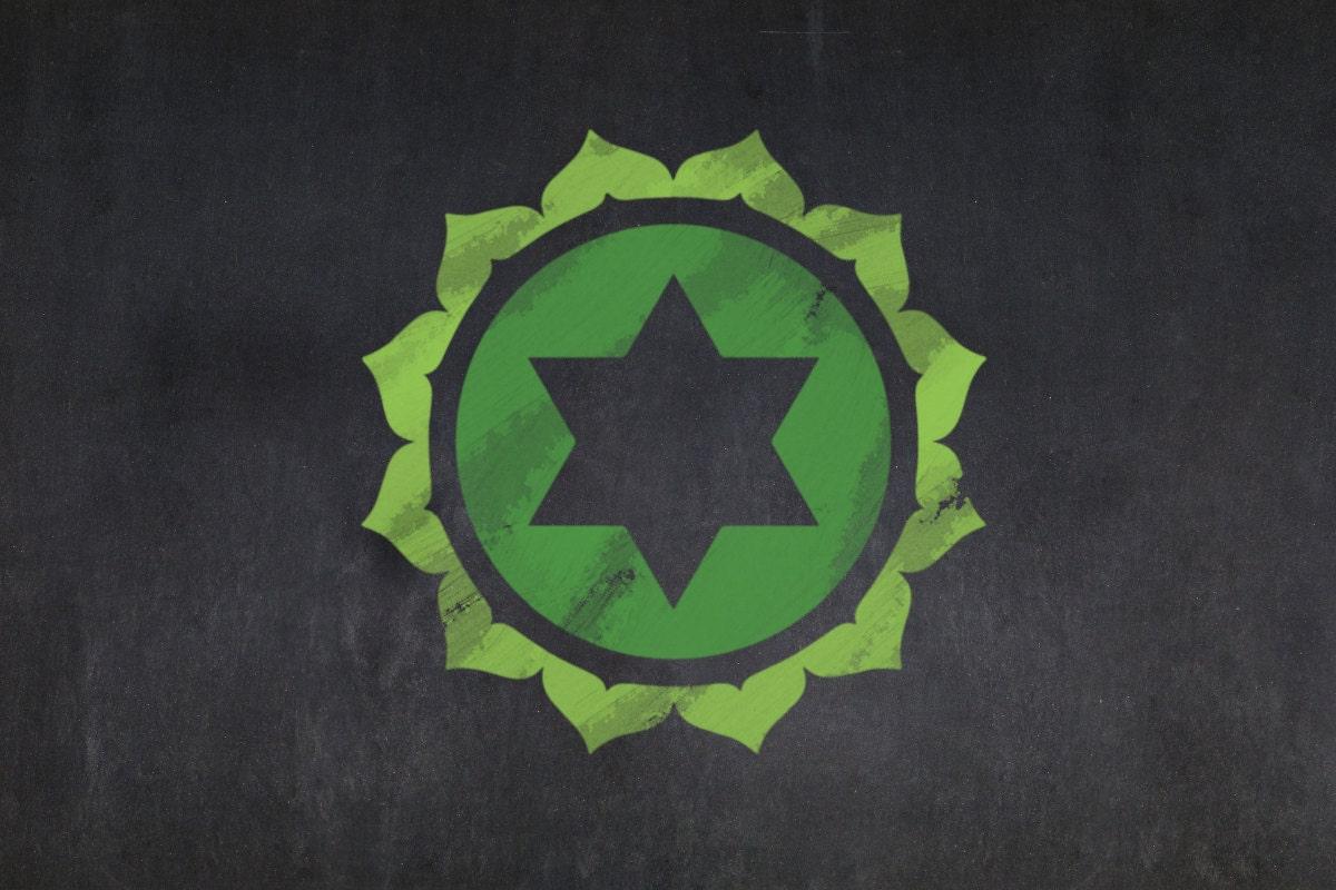 Anahata green chakra