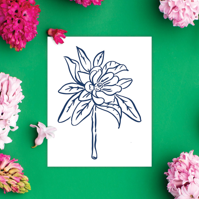 @HostClubco Botanical Print 2