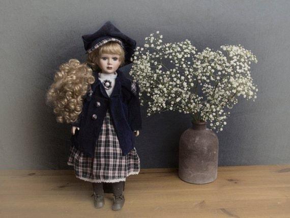 European vintage doll