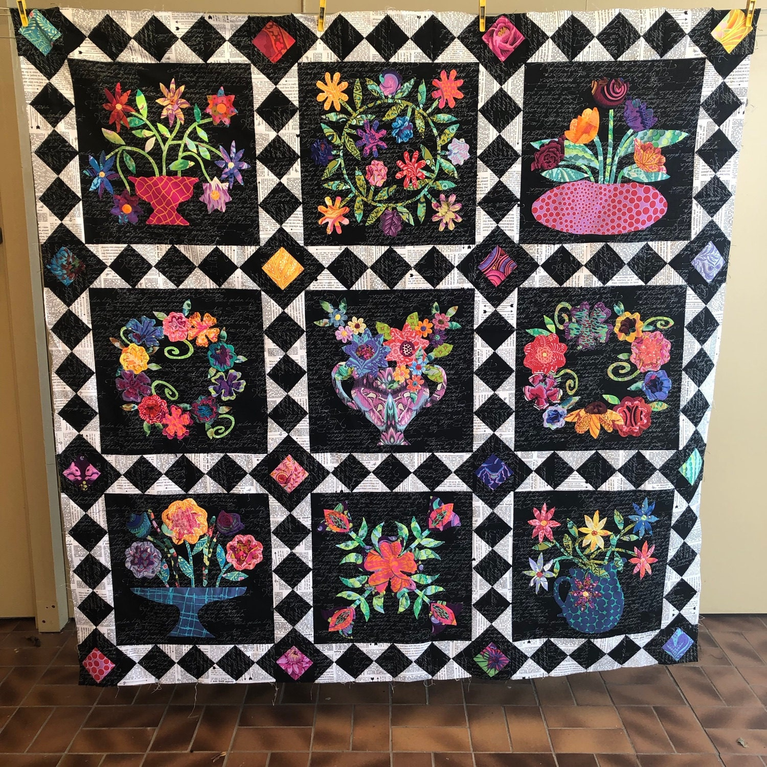 Quilt Centre Finished
