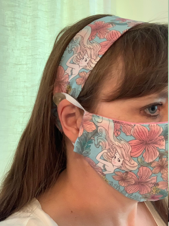 Face Mask and Headband