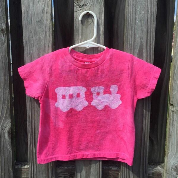 Pink train shirt