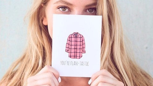 Fall Fashion, Flannel, Fall Shopping, Greeting Cards, Funny Cards