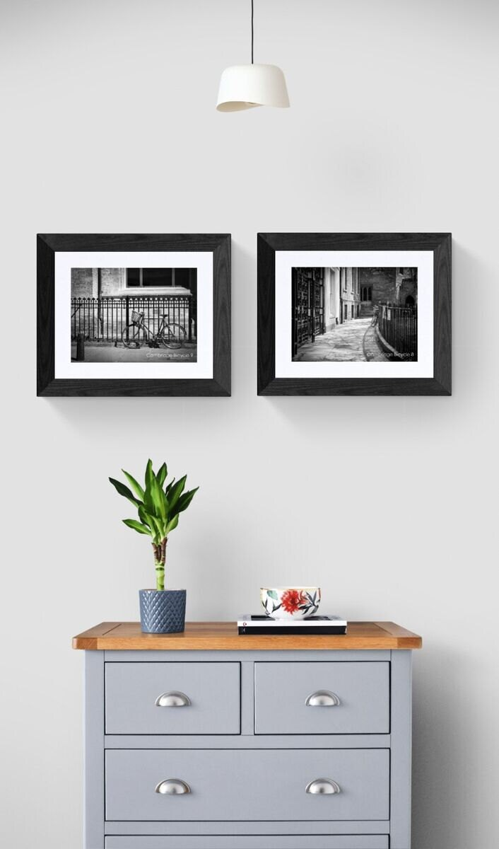 bicycle prints of cambridge- unframed or ready to hang- limited editions custom sizes