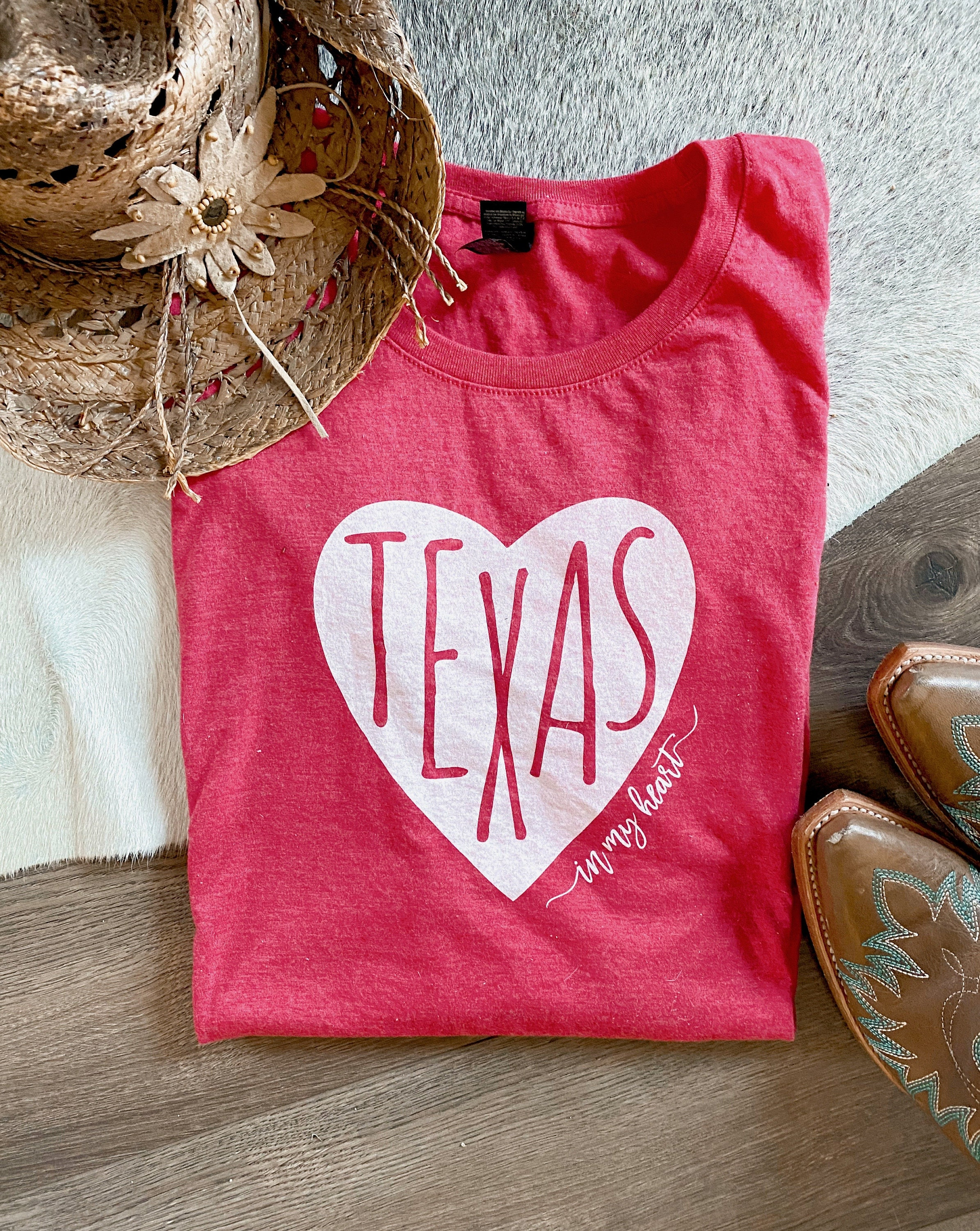 Texas in my Heart T-Shirt