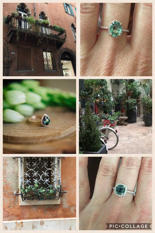 Inspiration behind Eidelprecious jewellery - Green Sapphires