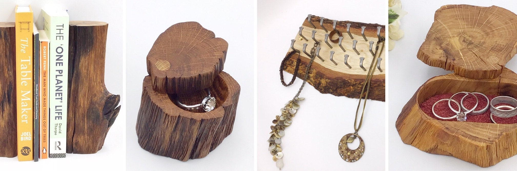 Our designs - inspired by nature from natural materials
