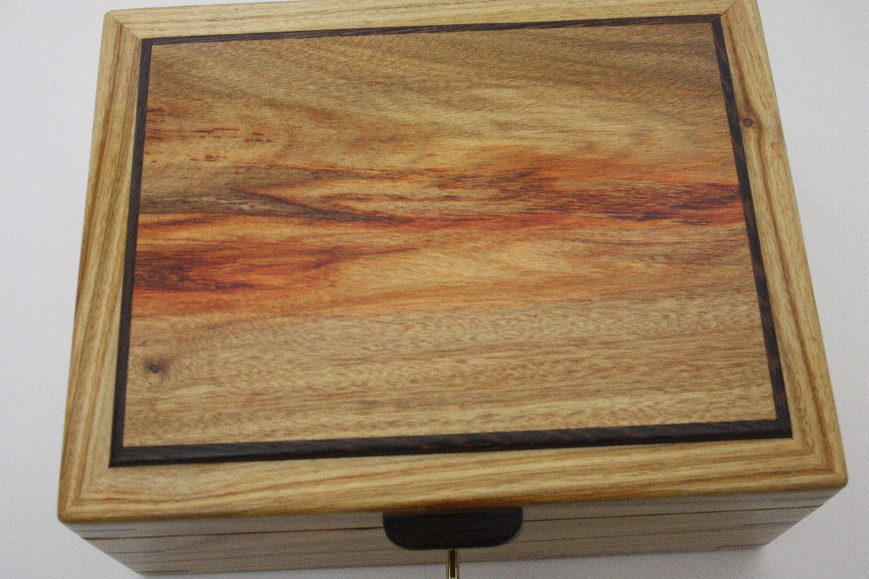 Canarywood and Wenge Wood Box