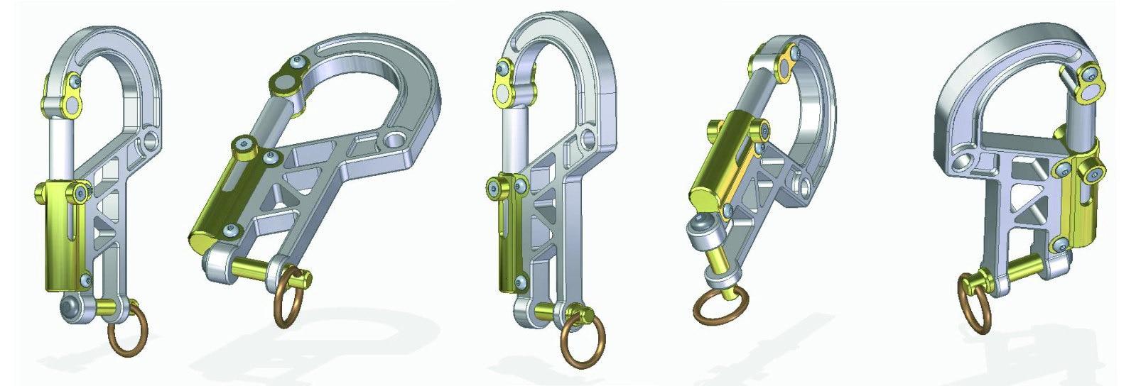 Bolt Carabiner Plans