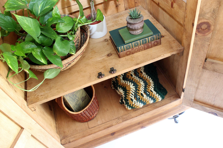 southwest bohemian storage cabinet home decor