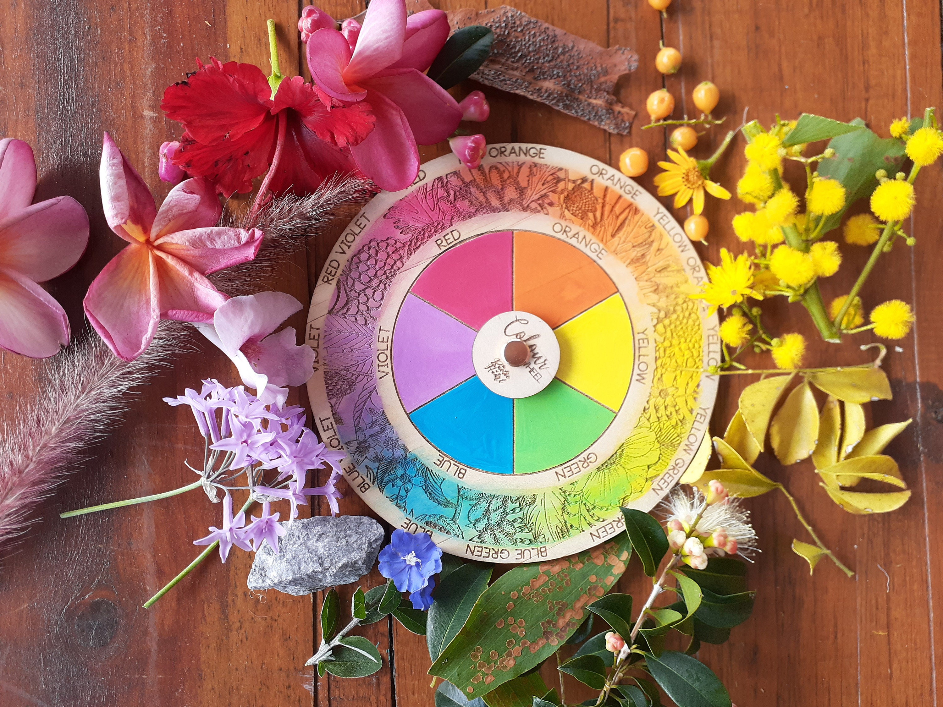 Nature colour wheel