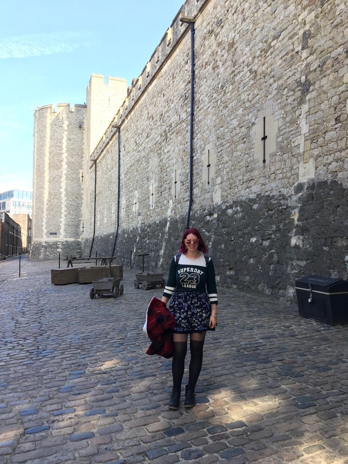 Ruth at the Tower of London