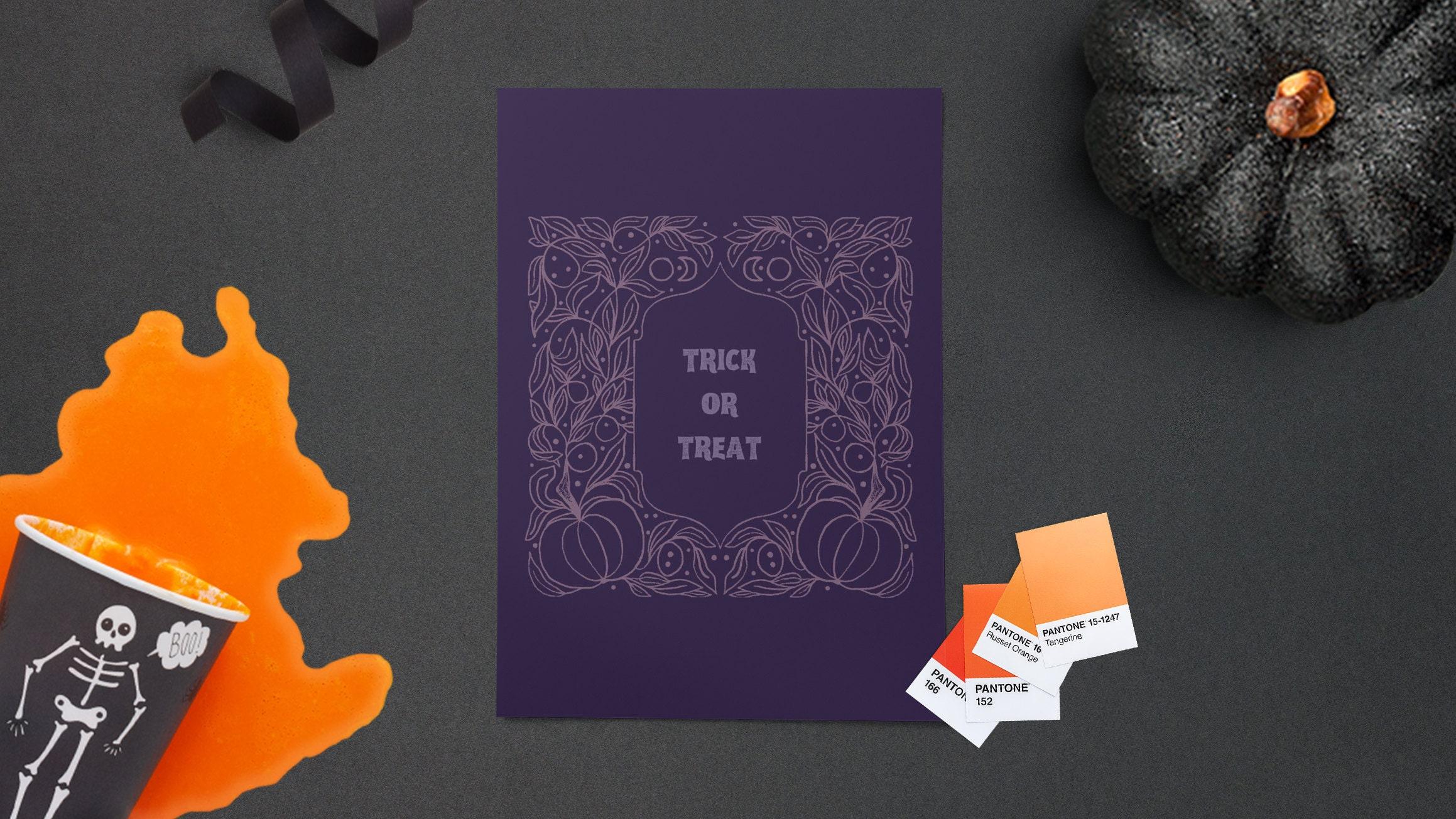 DIY Halloween card tutorial