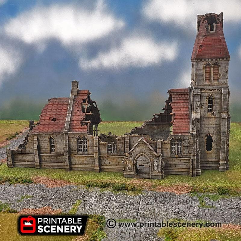 medieval church ruins 1
