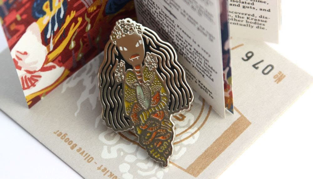 krasue phi thai ghost pin