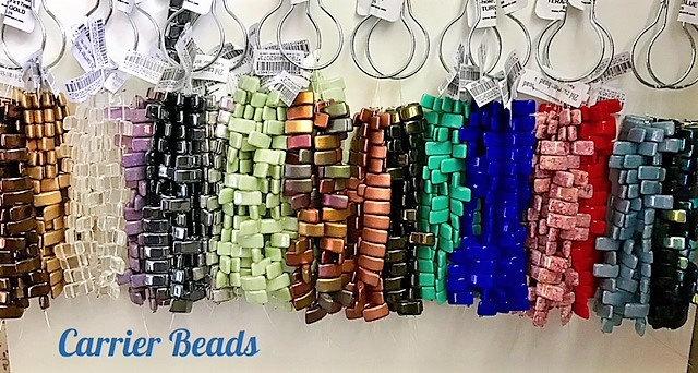 Carrier beads aka Pillow beads