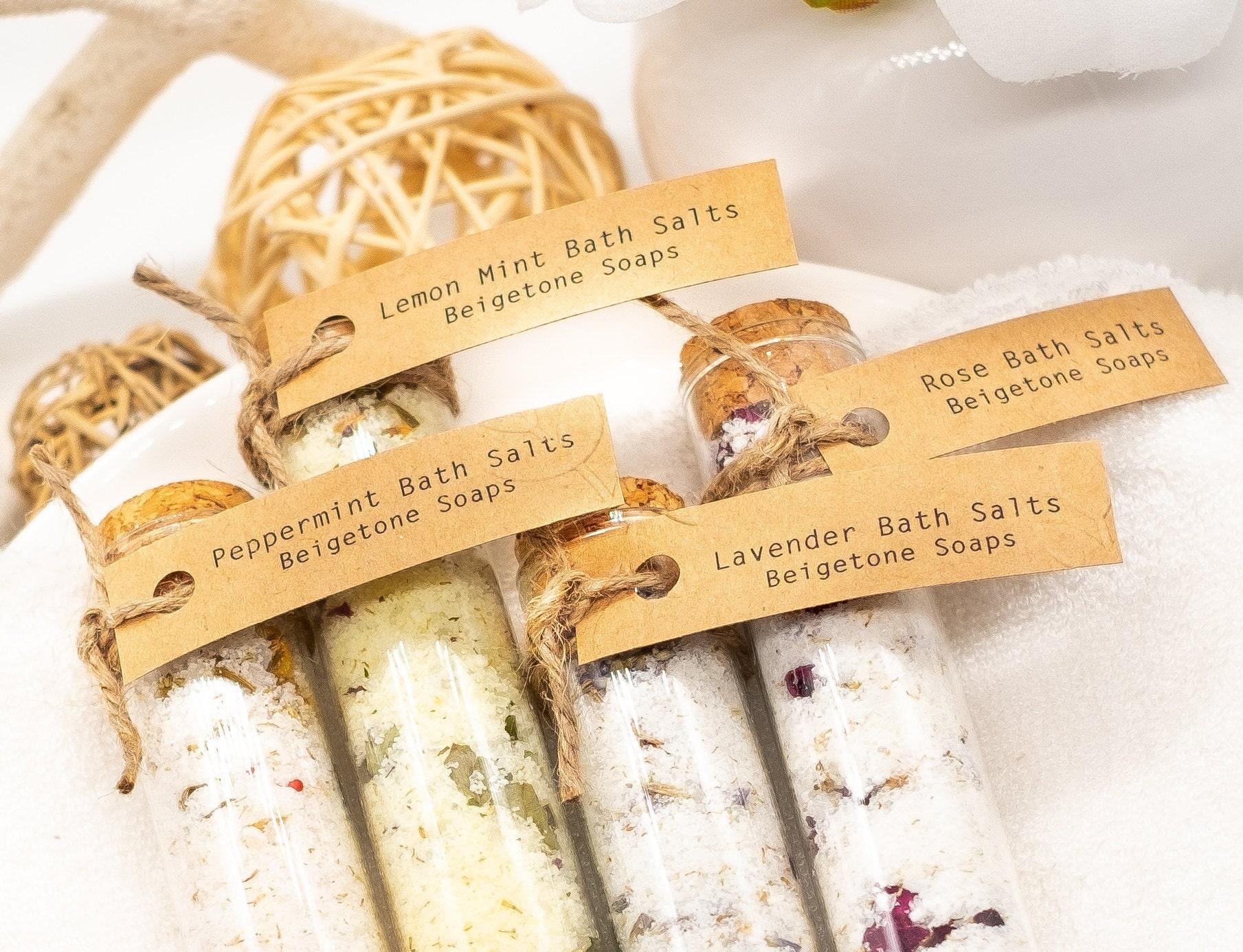 Bath Salts in Glass Tubes