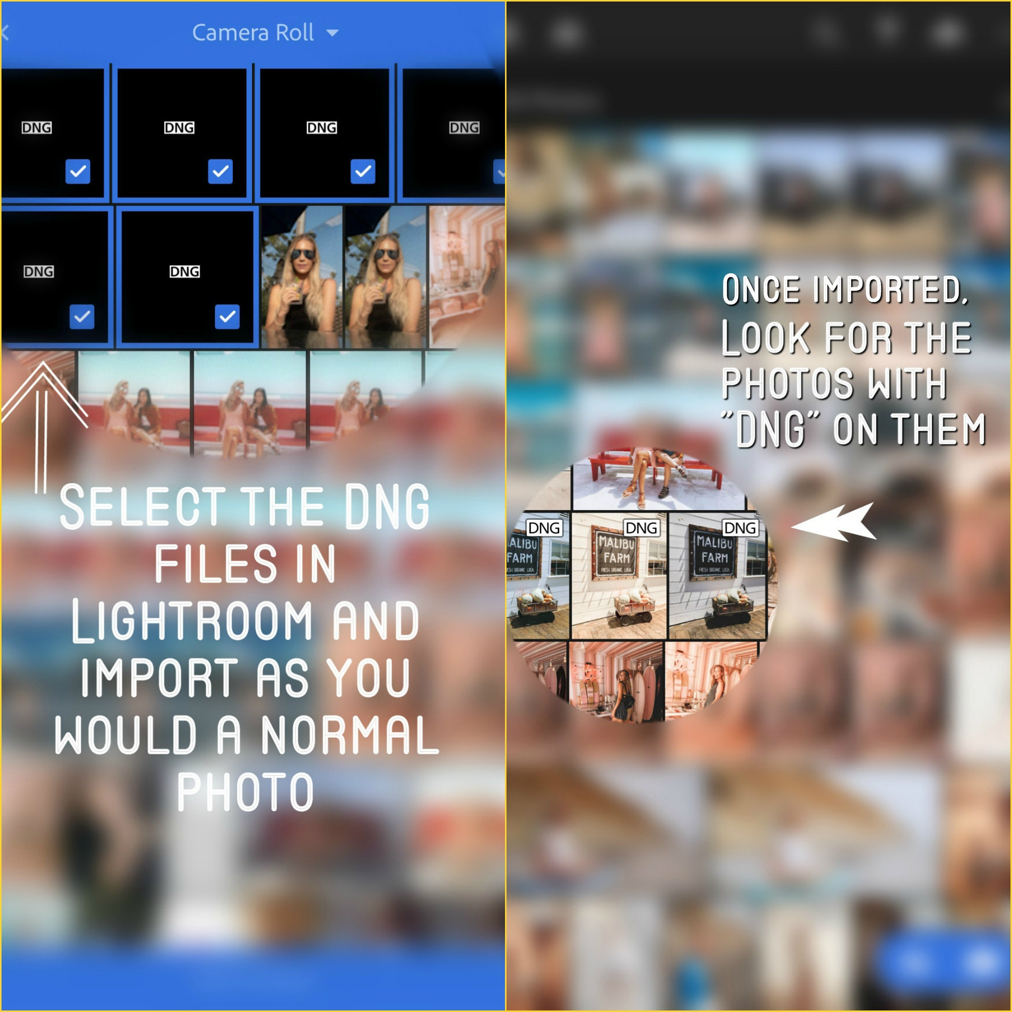 How To Import Lightroom Presets to Mobile & Desktop (Mac)