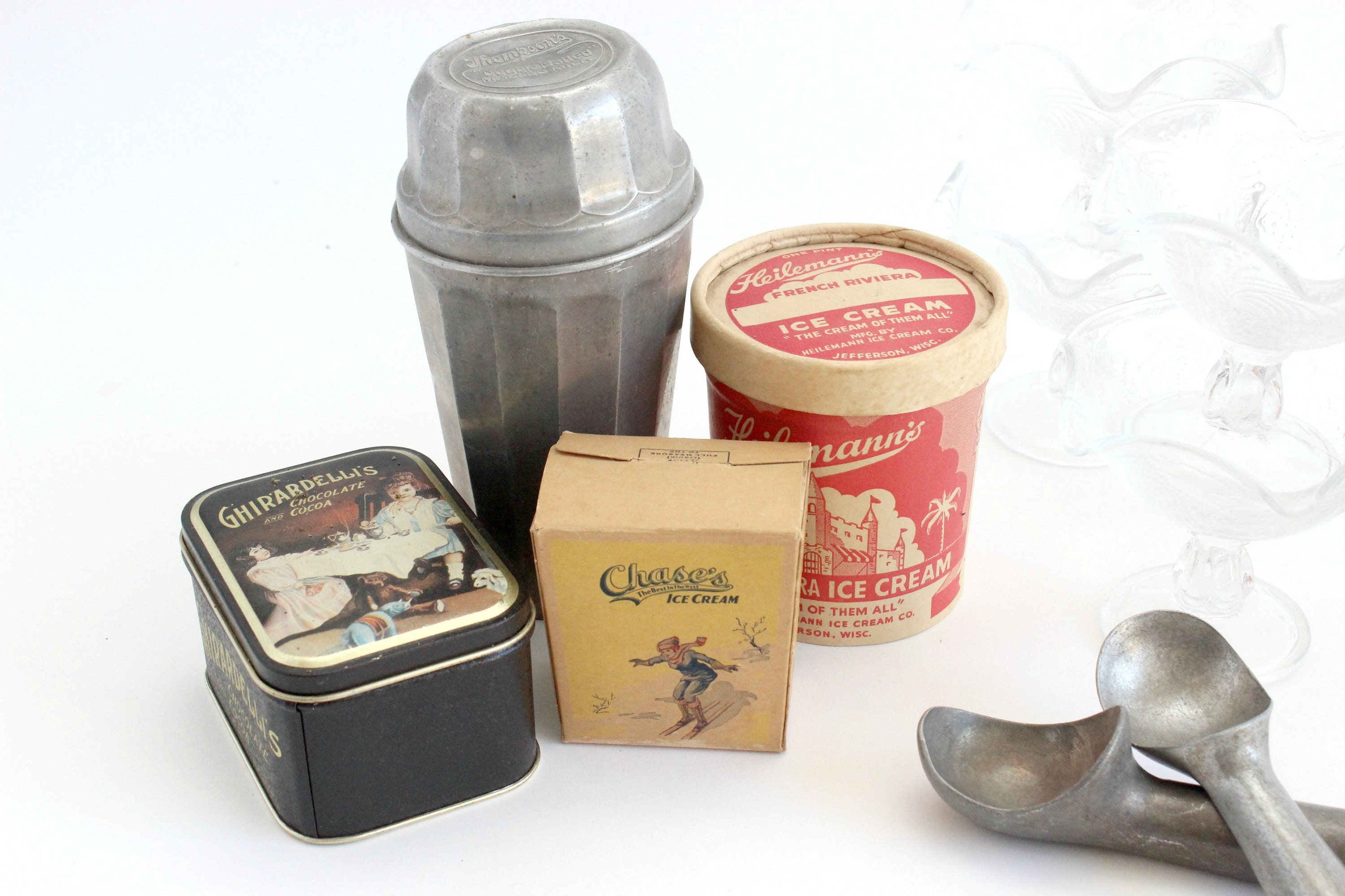 vintage soda fountain accessories