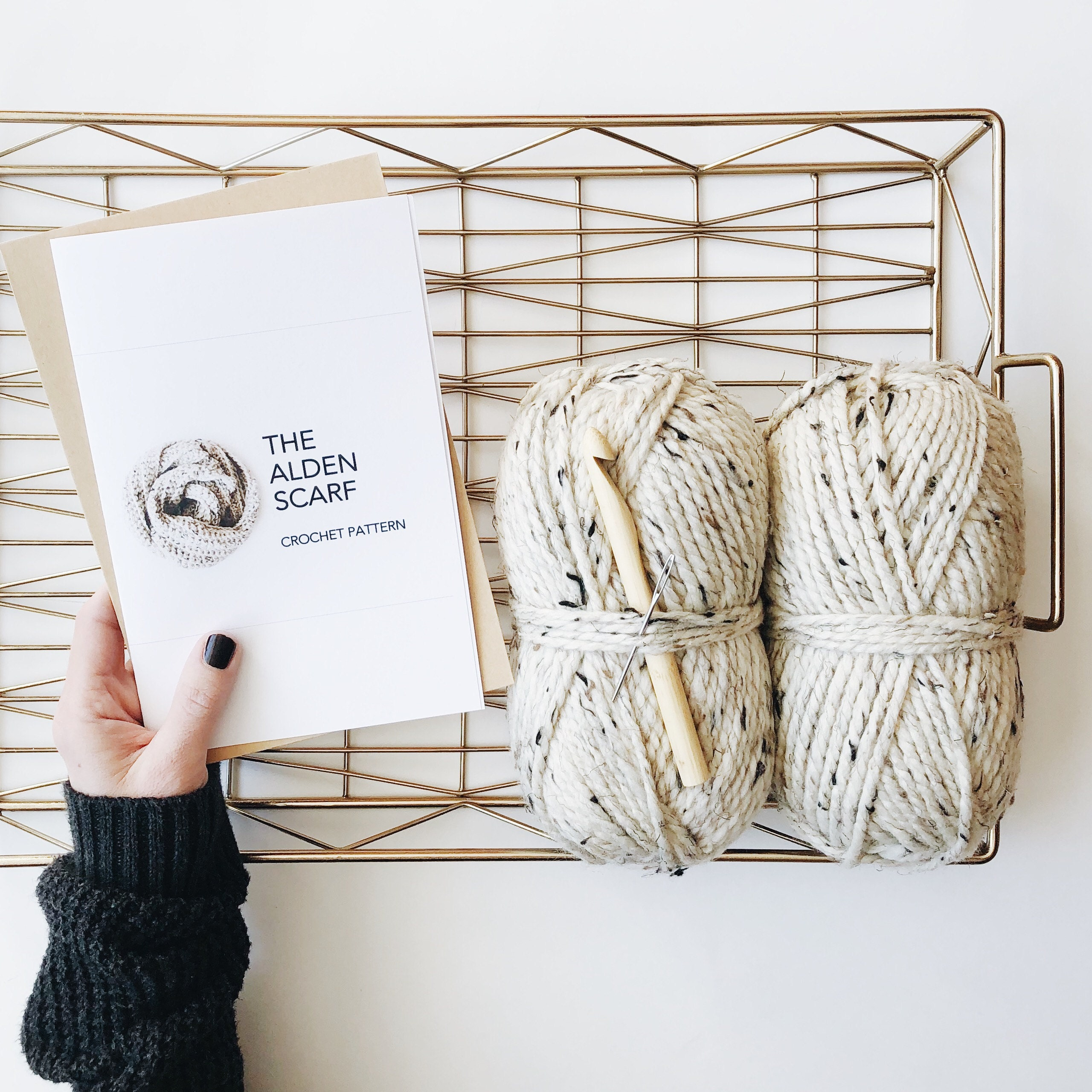 The Alden | DIY scarf kit