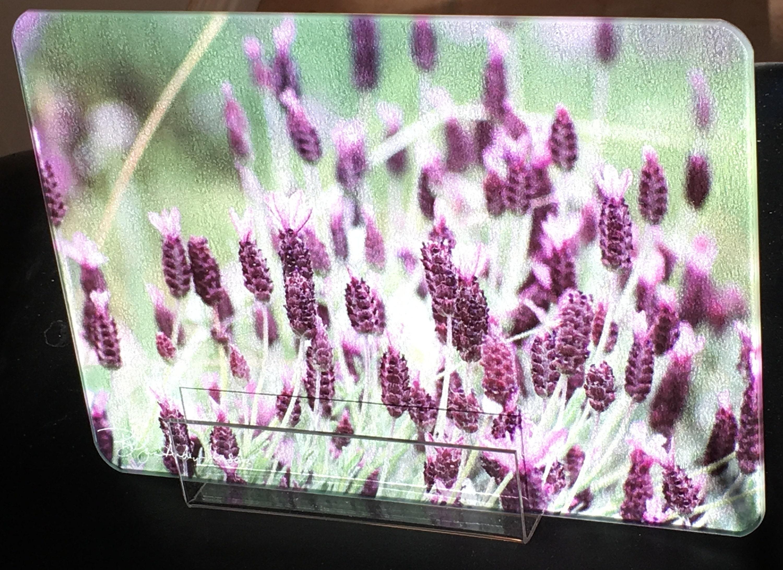 Lavender 2 Cutting Board Small