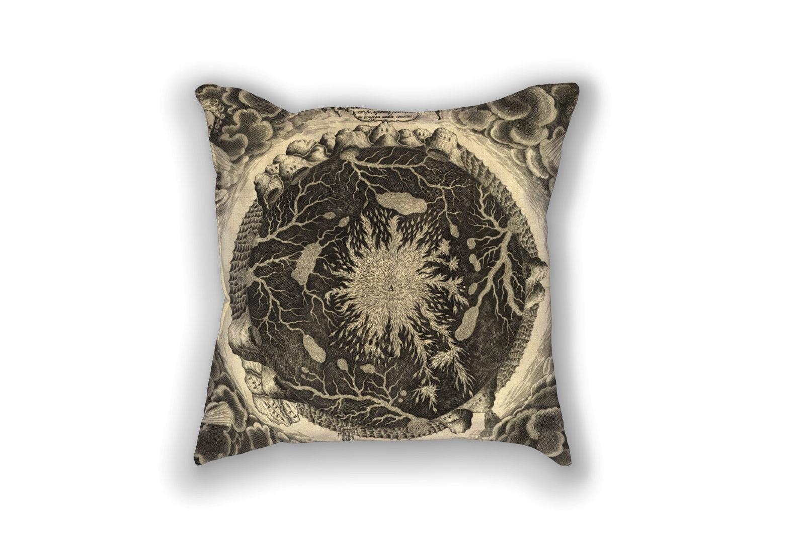 Subterranean Fires on a pillow!