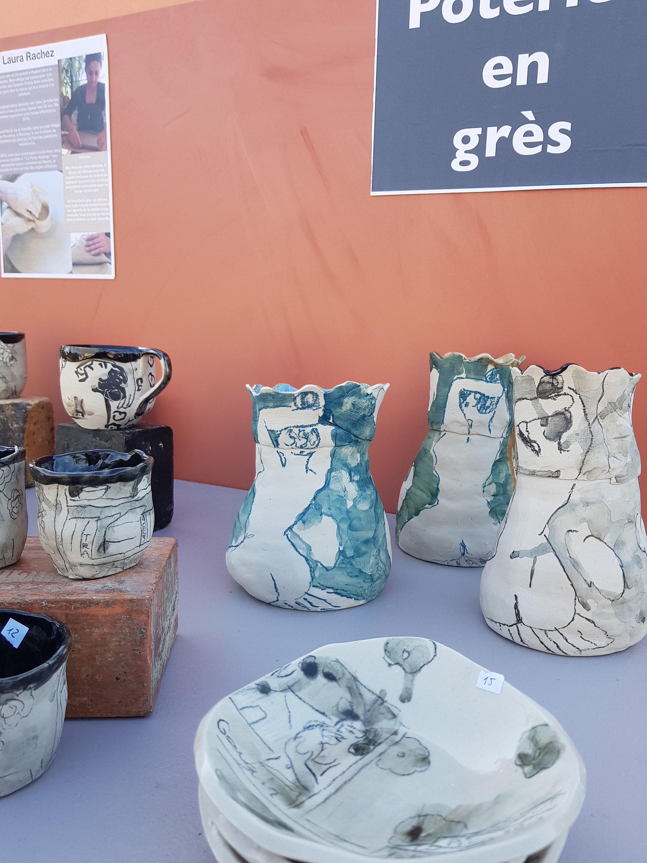 Poterie en grès atelier Provence