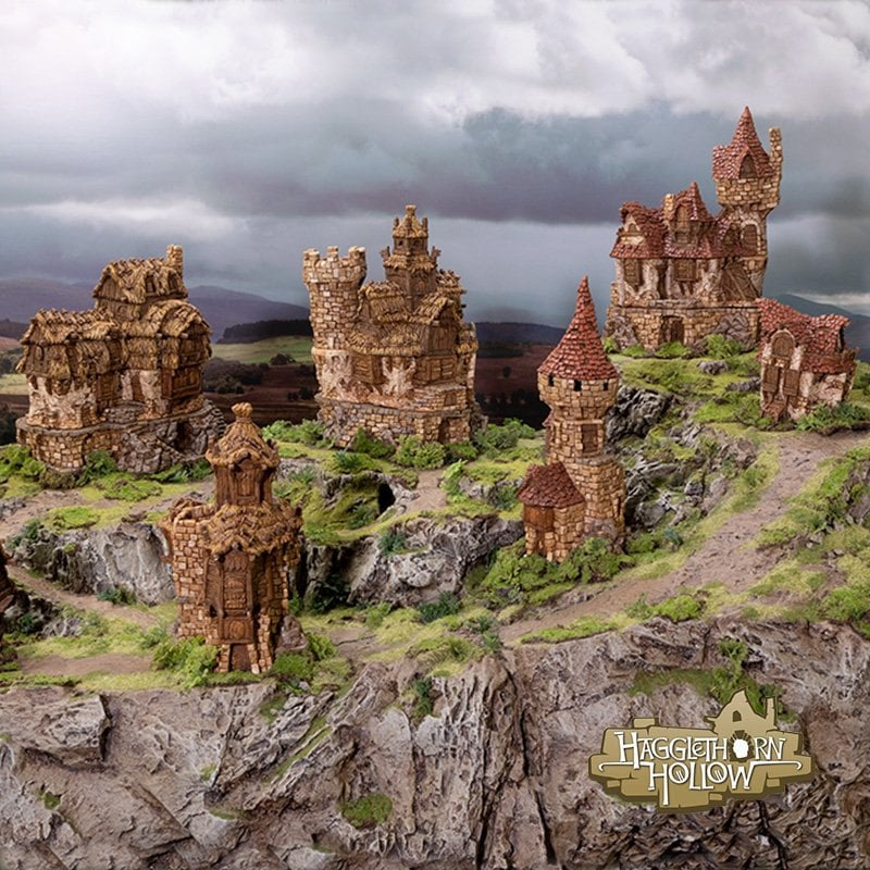 Hagglethorn Hollow by Printable Scenery