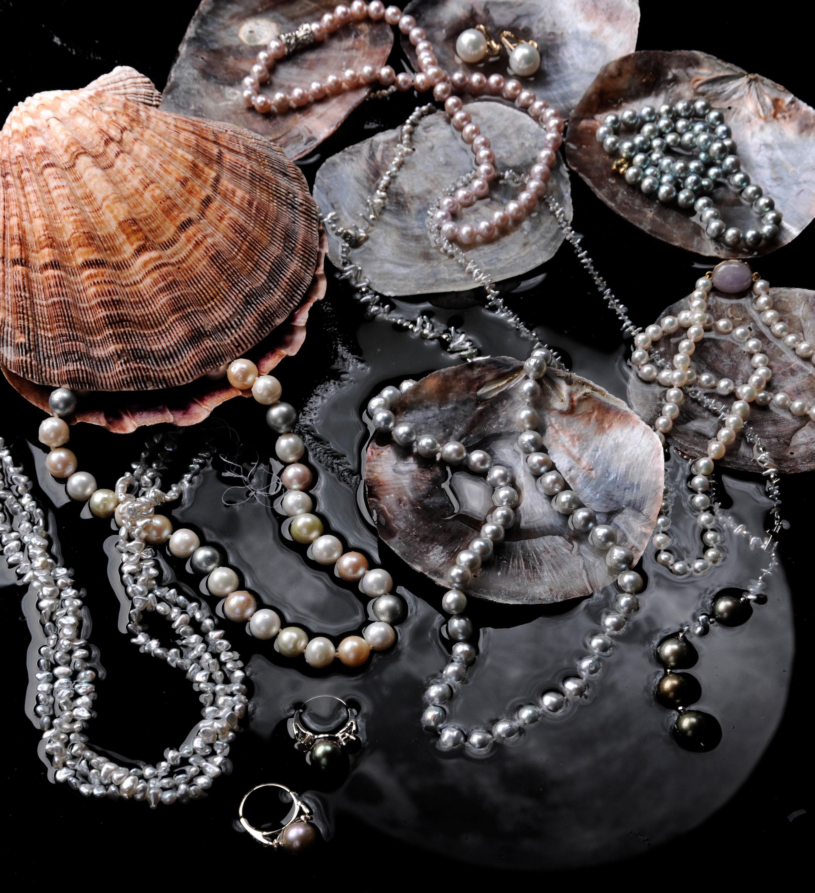 Tahitian Pearls, South Sea Pearls, Cultured Pearls