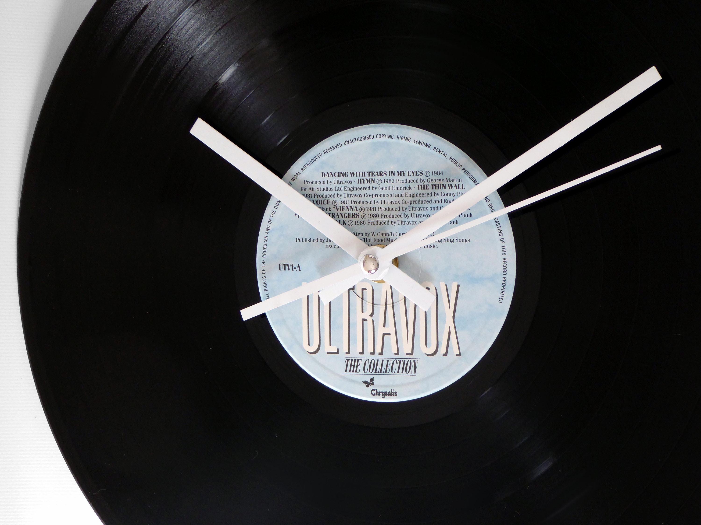 Ultravox The Collection Vinyl Record Wall Clock